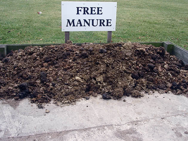Application and storage of manure
