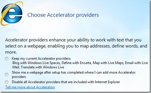 elegir proveedores de aceleradores