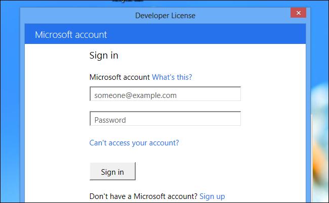 developer-license-account-details