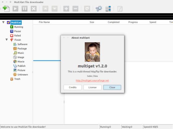 gestor de descargas de mediaget para ubuntu linux