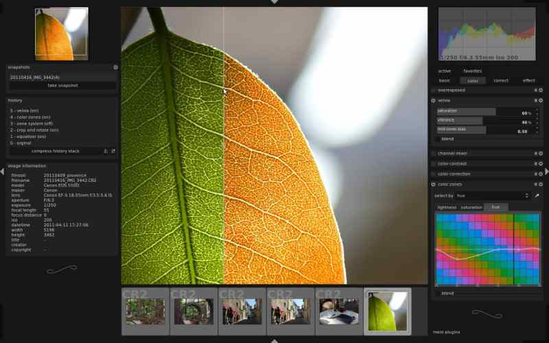 Darktable es la alternativa Linux de Adobe Lightroom