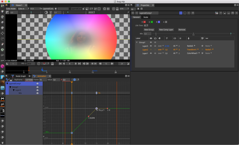 Natron es alternativas de Linux a Adobe Aftereffects