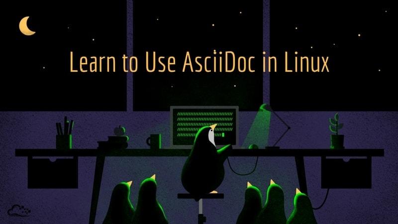 Linux用AsciiDocチュートリアル