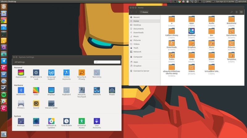 Tema de icono de Evolvere para Ubuntu y otras distribuciones de Linux