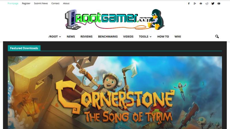 Rootgamer LinuxゲーミングWebサイト