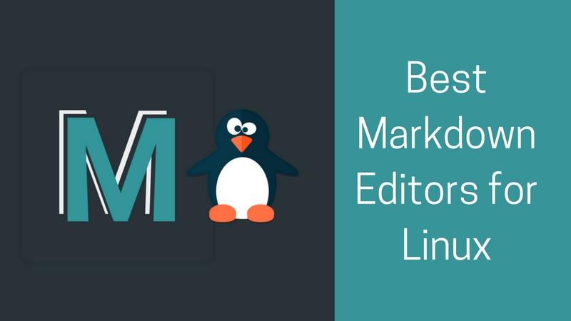 mejores editores de Markdown para Linux