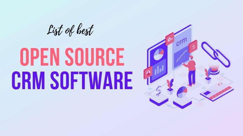 オープンソースCRMソフトウェア