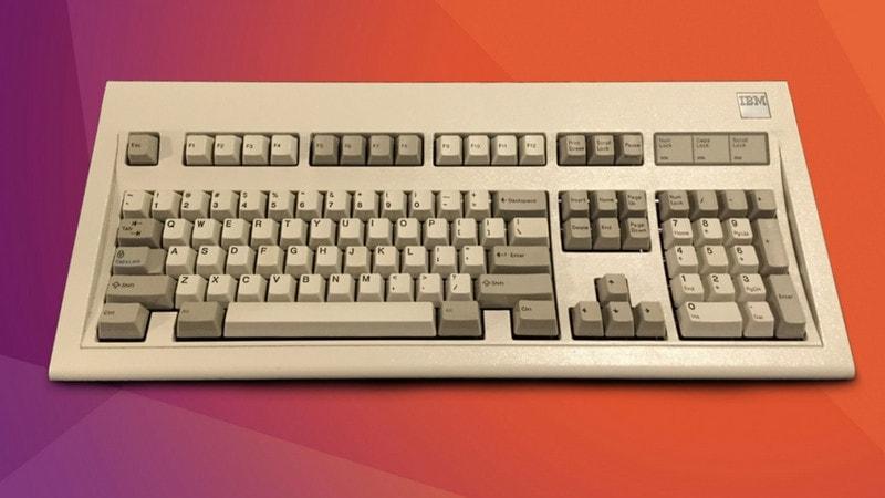 Sonido de hebilla Spring Keyboard en Linux