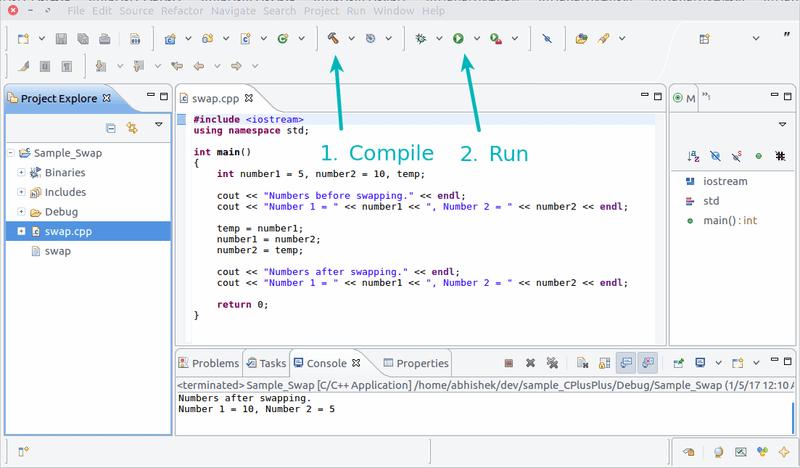 Configure Eclipse para el desarrollo de C ++ en Ubuntu Linux