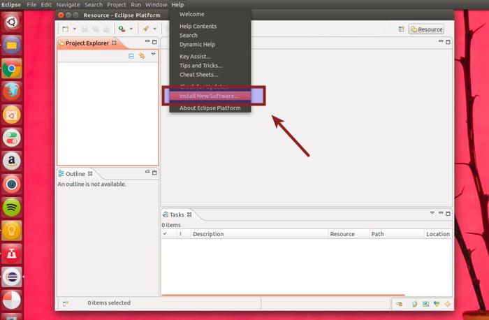 Linux UbuntuのEclipseに新しいソフトウェアをインストールする