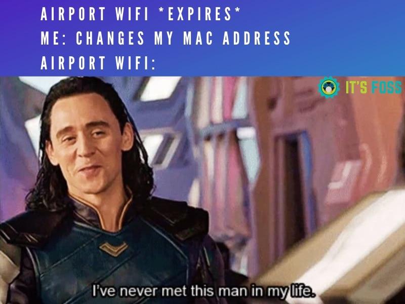 空港Wifiミーム