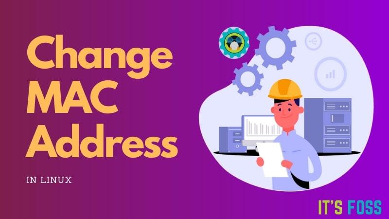 MacアドレスLinuxの変更
