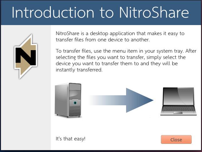 Instalar y ejecutar NitroShare en Ubuntu