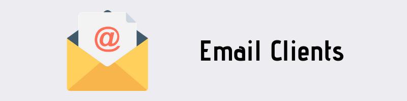 Clientes de correo electrónico Linux
