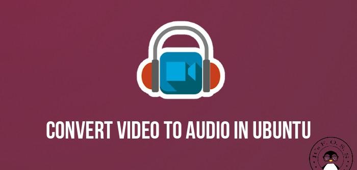 Извлечение аудио из видео в Ubuntu