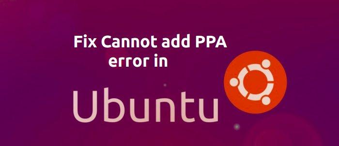 No se puede agregar PPA Ubuntu 14.04
