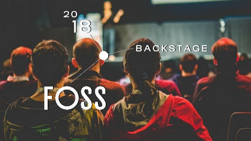 FOSS Backstage 2018