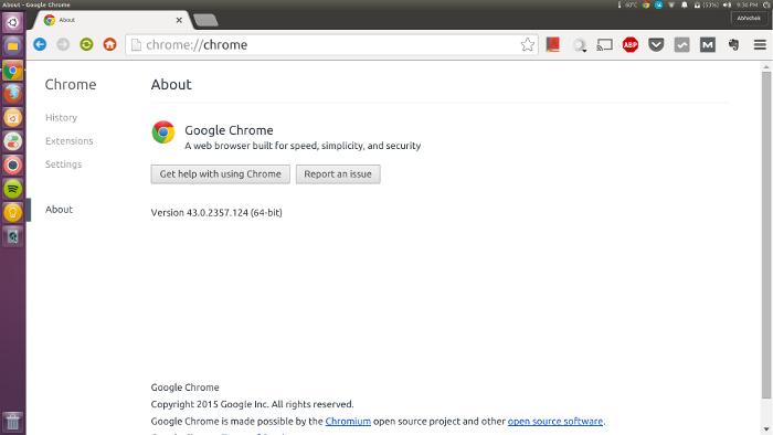 fuentes extra grandes ubuntu Google chrome