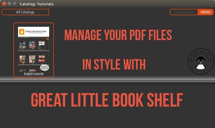 Gran revisión de Linux en el estante de libros