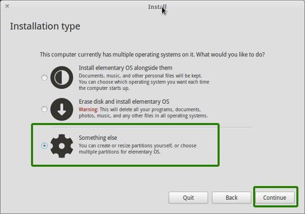 Instale Elementary OS LUna con Windows en arranque dual