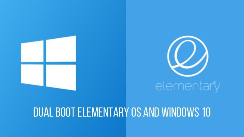 Sistema operativo dual de arranque dual y Windows 10