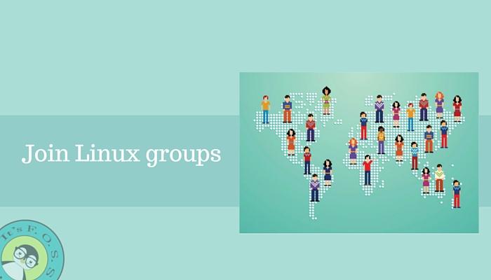 Присоединяйтесь к локальным группам Linux и Open Source