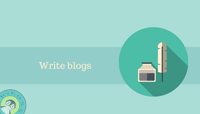 Пишите блоги о Linux и Open Source
