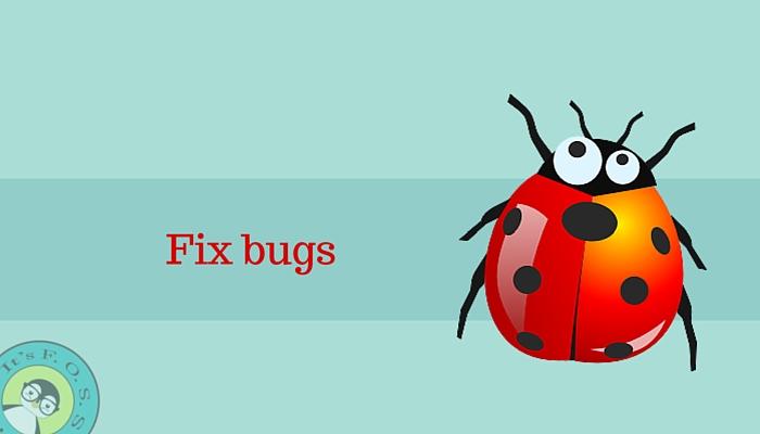 Исправьте ошибки, чтобы помочь проектам с открытым исходным кодом