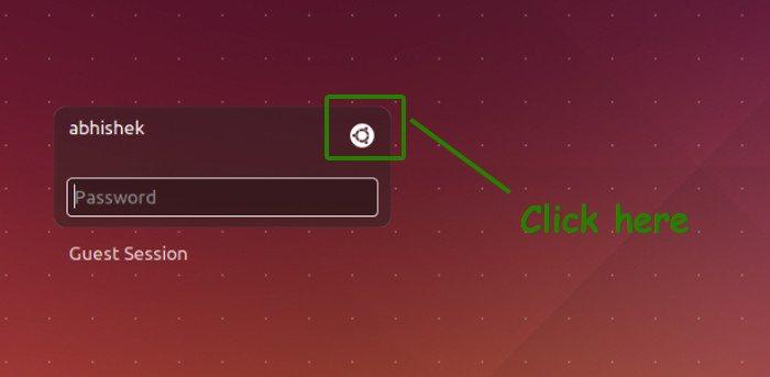 Cambiar el entorno de escritorio en Ubuntu 14.04