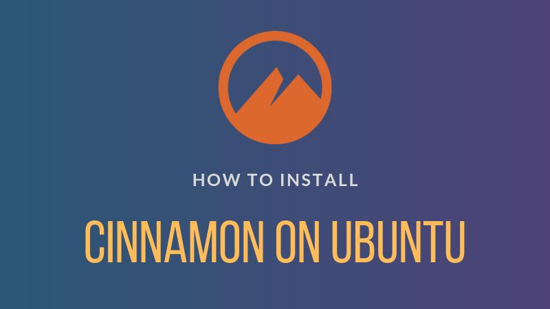Cómo instalar Cinnamon Desktop en Ubuntu Linux
