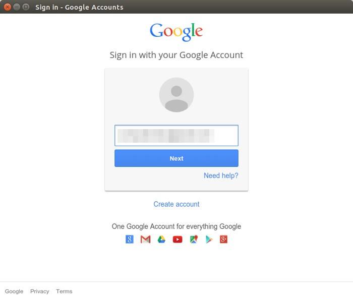 Configurar Google Hangouts en Ubuntu