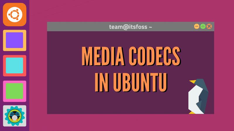 Códecs de medios en Ubuntu