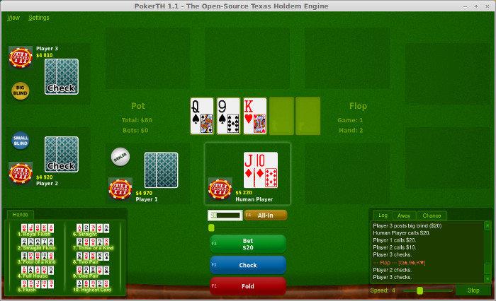 PokerTH Game Linux