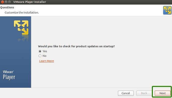 Instalar VMware Player en Ubuntu 13.10
