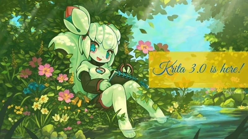Krita versión 3.0 lanzada
