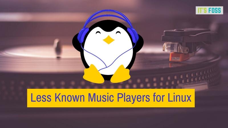 Menos conocidos pero mejores reproductores de música para Linux