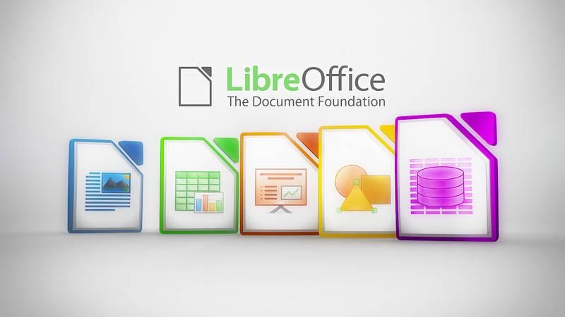 Iconos y logotipo de LibreOffice