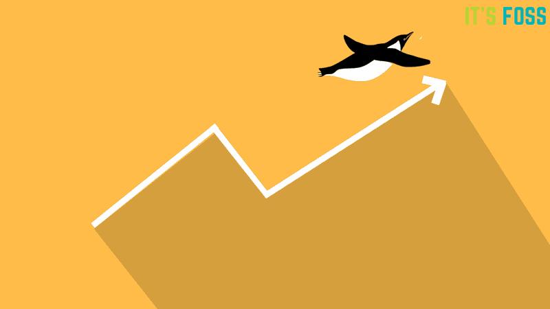 La cuota de mercado de Linux ha aumentado