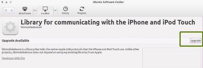 доверяйте этому компьютеру с iOS 7 в Ubuntu Linux Mint