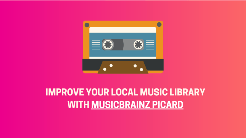 MusicBrainz Picard Linux