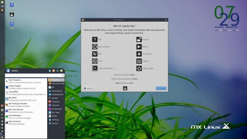 MX Linux 19
