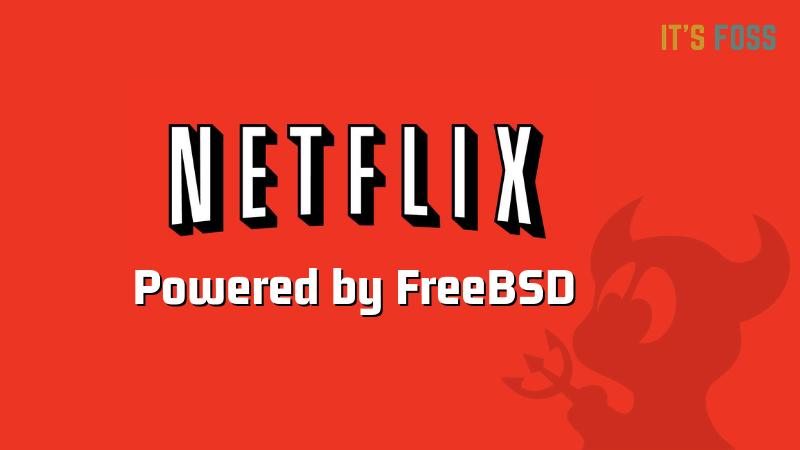 Netflix usa FreeBSD para su CDN