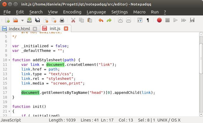 Notepadqq es la mejor alternativa a Notepad ++ en Linux