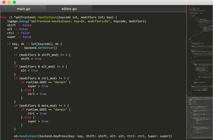El editor de LimeText Linux es un clon de código abierto de SubLime Text