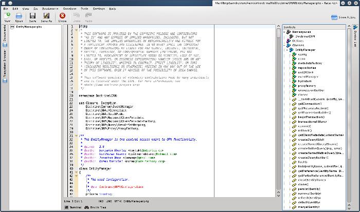Kate Text Editor para reemplazar Notepad ++ en Linux