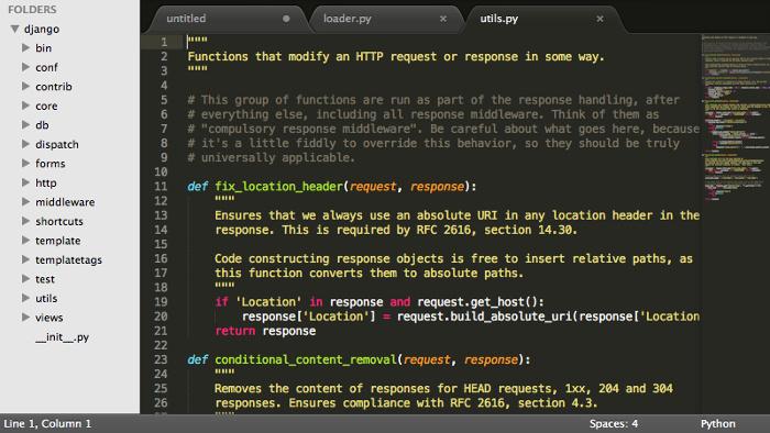 Sublime Text editor es quizás una mejor alternativa para Notepad ++ en Ubuntu Linux