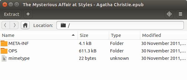 Error de ePub al abrir en Ubuntu