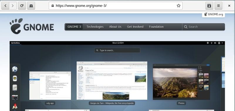 Navegador web GNOME