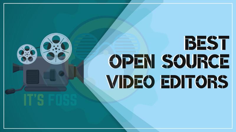 Лучшие видеоредакторы с открытым исходным кодом