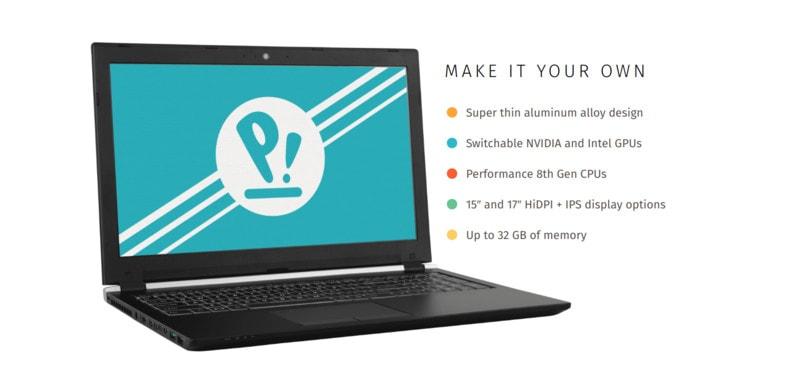 Laptop Oryx Pro Linux